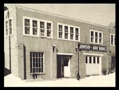 Johnson Boat Works as it looked in 1936